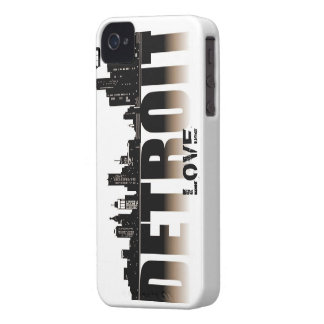 Detroit Love iPhone 4 Cases