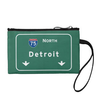 Detroit Michigan mi Interstate Highway Freeway : Change Purses
