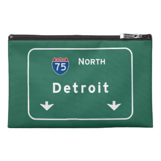 Detroit Michigan mi Interstate Highway Freeway : Travel Accessory Bag