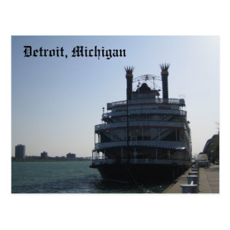 Detroit, Michigan Postcard