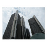 Detroit, Michigan, postcard