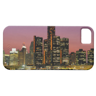 Detroit, Michigan Skyline at Night Case For The iPhone 5
