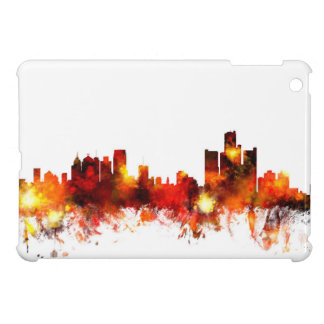 Detroit Michigan Skyline iPad Mini Cases