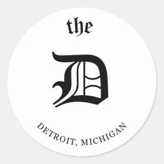 Detroit, Michigan Sticker