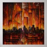 Detroit-Motown Massive - Canvas Print