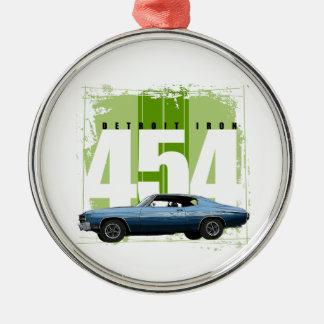 Detroit Muscle Chevelle Christmas Ornament