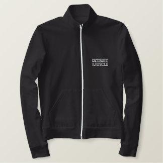 Detroit Muscle (jacket) Embroidered Fleece Jogger Jacket