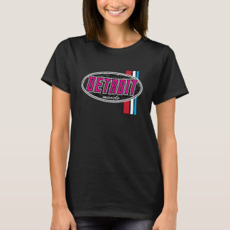 Detroit Muscle ladies PINK T-Shirt
