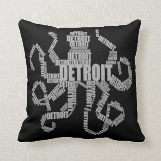 Detroit Octopus Art Cushion