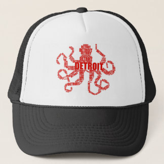 Detroit Octopus Trucker Hat