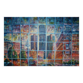 Detroit on My Mind I - Canvas Print