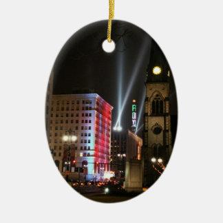 Detroit Ornament