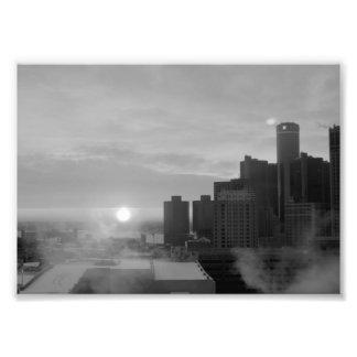 Detroit Photo Print