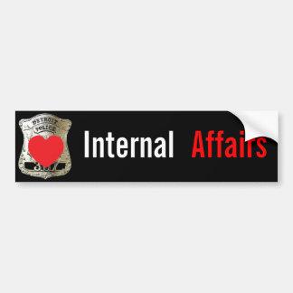 Detroit Police - Internal Affairs Bumper Sticker
