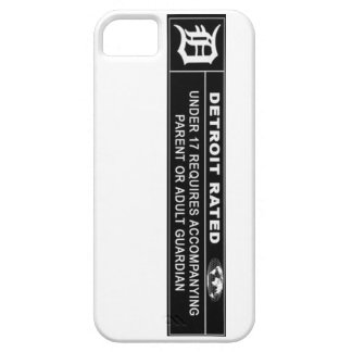 Detroit Rated phone case cover iPhone 5 Case