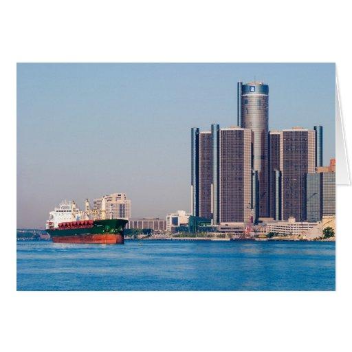 Detroit Renaissance Center Cards