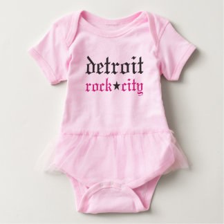 Detroit Rock City Baby Baby Bodysuit