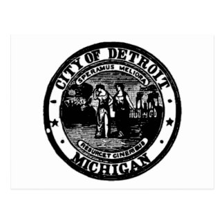 Detroit Seal Postcard
