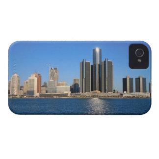 Detroit skyline 2 iPhone 4 case