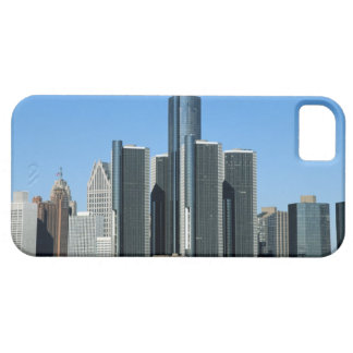 Detroit Skyline 4 Case For The iPhone 5