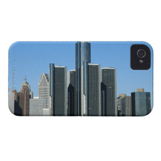 Detroit Skyline 4 iPhone 4 Cover