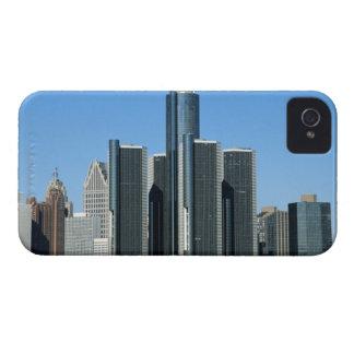 Detroit Skyline 4 iPhone 4 Cover