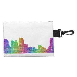 Detroit skyline accessory bags