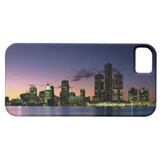 Detroit Skyline at Dusk 2 iPhone 5 Cover