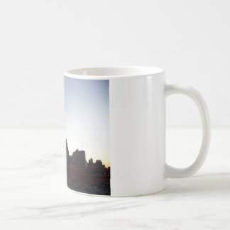 Detroit Skyline at Dusk Mug