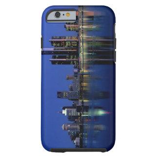 Detroit Skyline at Night Tough iPhone 6 Case