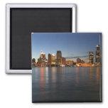 Detroit Skyline Fridge Magnets