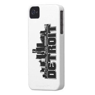 Detroit Skyline iPhone 4 Case-Mate Case