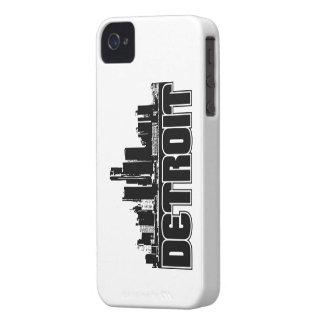 Detroit Skyline iPhone 4 Cover