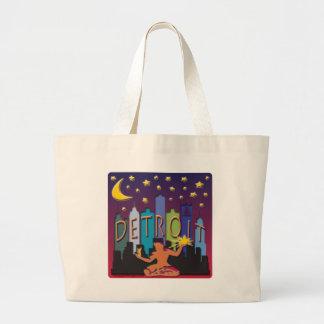 Detroit Skyline Mega Color Bag