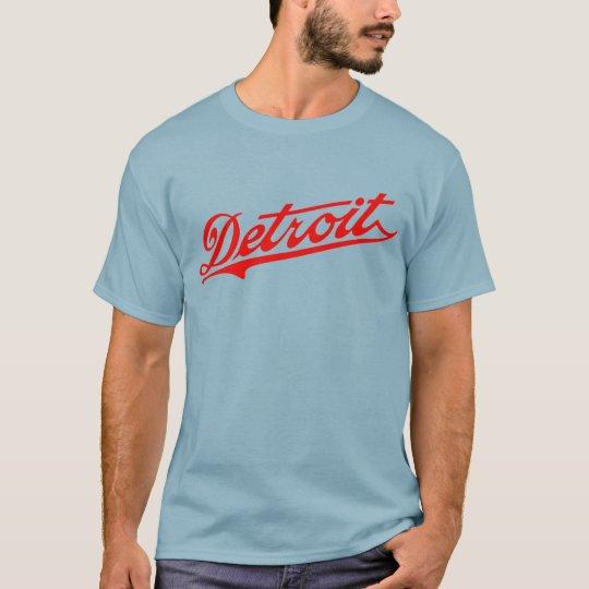 Detroit T T-Shirt