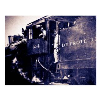 Detroit Terminal Railroad Engine #24 Postcard