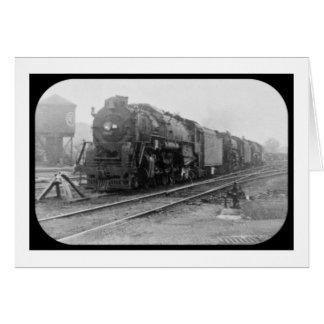 Detroit Terminal Railroad Locomotive Greeting Card