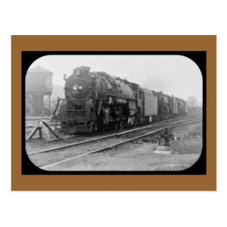 Detroit Terminal Railroad Locomotive Post Card