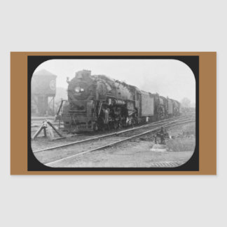 Detroit Terminal Railroad Locomotive Rectangular Sticker