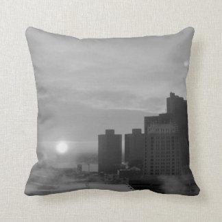 Detroit Throw Pillow