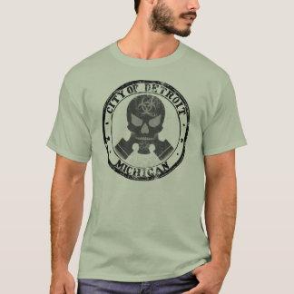 Detroit Toxic Skull T-Shirt
