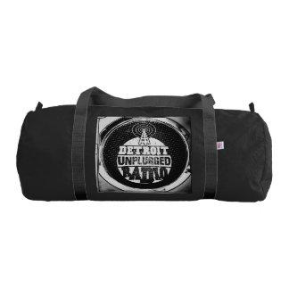 Detroit Unplugged Duffel Bag Gym Duffel Bag