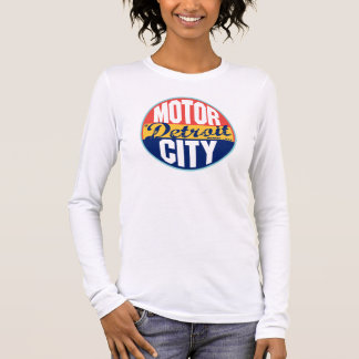 Detroit Vintage Label Long Sleeve T-Shirt