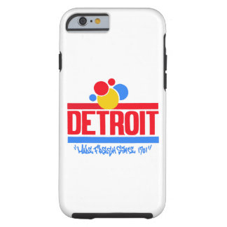 Detroit Wonder  iPhone 6/6s, Tough Tough iPhone 6 Case