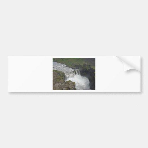 Dettifoss Iceland Bumper Stickers