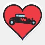 deuce coupe heart sticker