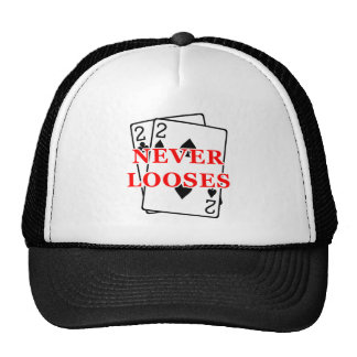 Deuces never looses mesh hat