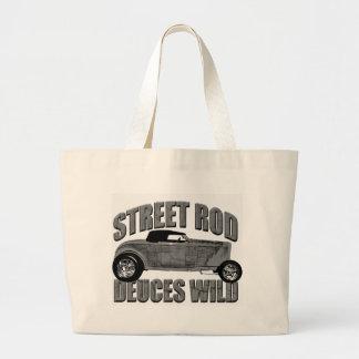 deuces wild 1932 Ford Roadster Jumbo Tote Bag