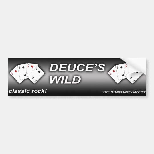 Deuce's Wild Bumber Sticker