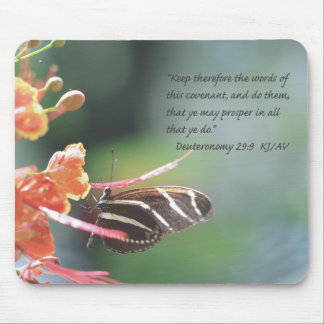 Deuteronomy 29:9 Scripture Mousepad